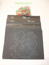 Vintage Lite Brite Screen Replacement Pegs and Templates