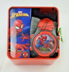 Accutime Watch Corp - Marvel Spiderman Digital Watch (New)