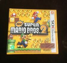 New Super Mario Bros. 2 (Nintendo 3DS, 2012) PAL Brand New First Print