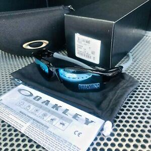 OAKLEY FLAK DRAFT   POLISHED BLACK   PRIZM DEEP H20 POLARISED OO9364-0667