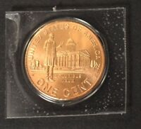 """2009 D Lincoln """"Professional Years"""" Cent  Satin Finish Copper Penny"""