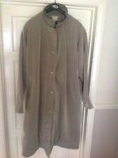 ladies Daxon Polyester Coat Khaki Coloured size 30-32