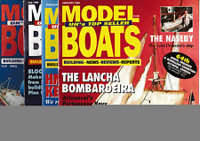 January Model Boats Monthly Craft Magazines