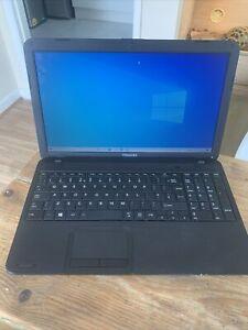 Toshiba Satellite C850 Laptop,500gb Hdd,6gb Ram,win10,dual Core @1.8ghz