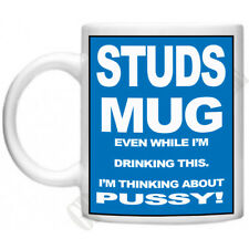 Studs Mug Rude Insulting  Mens Gifts For Dad Bro Novelty Tea Coffee Mug Cup