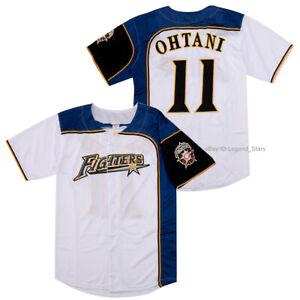 Japan Shohei Ohtani #11 Hokkaido Nippon Ham Fighters Baseball Jersey 3 Colors