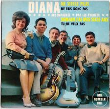 DIANA ET LES PYGMÉES Demain j'ai seize ans 1964 French 60s EP Lolita Yé-yé girl