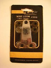 Mr. Gasket Chrome Wire Looms #1010 Two Per Set Fits 2mm Wire NOS Sealed