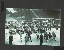 Nostalgia Postcard Brooklands Reliability Tests Junior Car Club 1926