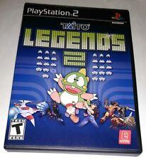 Taito Legends 2 (Sony PlayStation 2, 2007) PS2