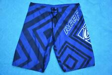 "NEW Reef BOARDSHORTS. ROYAL BLUE/Black/White  SIZE 38"" - 97cm. New without Tags."