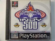 !!! PLAYSTATION PS1 SPIEL Indy 500, gebraucht aber OK !!!