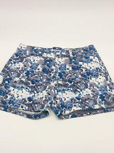 Lee Woman's Natural Fit Stretch Shorts - Color: Blue Tones  White - 4 Medium