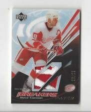 2003-04 UD Ice Breakers Steve Yzerman PATCH Red Wings 05/25