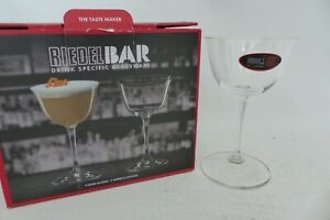 Riedel Bar Crystal Glass Sour Cocktail Glasses Set of 2 217ml Clear