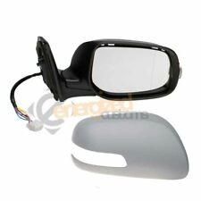 Toyota Avensis 7/2006-2009 Electric Wing Door Mirror Primed Cover Drivers Side
