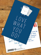 Brainbox Candy 'Love What You Do' Postcard Funny Comedy Humour Novelty Cheeky