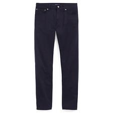 Ralph Lauren Purple Label Mens Navy Thomson Slim Fit Stretch Denim Jeans Pants