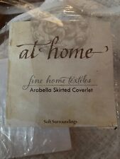 New Listingsoft surroundings Arabella Skirted Coverlet King