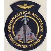 [Patch] EUROFIGHTER TYPHOON AERONAUTICA MILITARE v1 cm 8,5x9,5 toppa ricamo -363