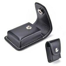 PU Leather Windproof Pouch Case Holder Cigarette Lighter Box With Belt Loop NLK