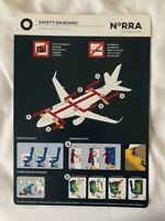 Air Berlin Group Boeing 737-700 Operated By Germania Safety Card Selten Top