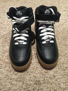 Nike ID Air Force 1 High Black Deadstock - Size 10 DS