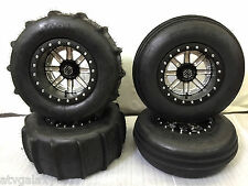 "Hiper STI Beadlock Sand Drifter Paddle Tires 14"" Front Rear RZR 1000 XP 4 Dune"