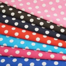 Polycotton Fabric 10mm Polka Dots Spots Spotty