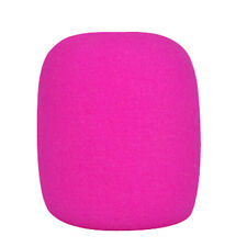 10 Colors Handheld Stage Microphone Windscreen Foam Mic Cover V9p Pink