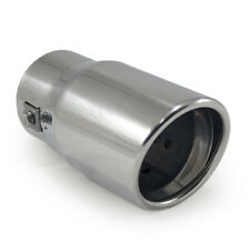 Exhaust Tip Trim Pipe Tail Muffler Chrome For Audi TT A3 A4 A5 A6 A7 A8 Q3 Q5 Q7