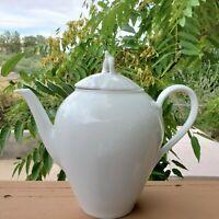 Seltman Weiden Bavaria West Germany Liane White Teapot Excellent Vintage
