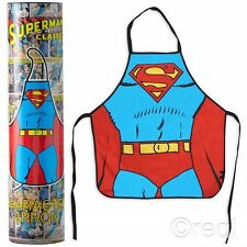 New DC Comics Superman Apron Tube Adult Novelty Retro Justice League Official