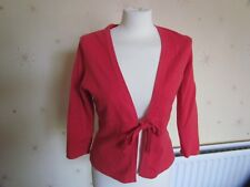 Red Cardigan size Medium By Mexx