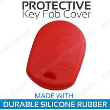Remote Key Fob Cover Case Shell for 2005-2014 Ford Mustang Red