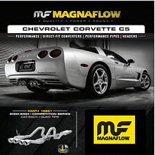 MAGNAFLOW Cat Back Dual Exhaust System 2000-2004 Chevy Corvette C5 5.7L V8 17281