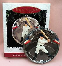 MIMB1995 HALLMARK Keepsake Baseball Heroes # 2 LOU GEHRIG NY Yankees