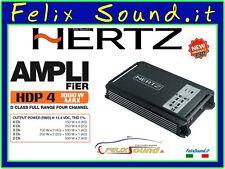 Hertz HDP 4 - D-class 4 Channel Amplificatore 4x250w