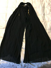 NEW WOMENS YA LOS ANGELES BLACK ELASTIC WAIST GENIE PANTS SIZE SMALL
