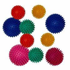 10er Set Igelball Massageball Noppenball Igelkugel Stachelball Therapieball Ball