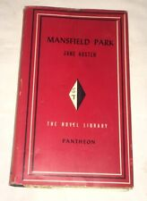 Mansfield Park Jane Austen Pantheon Books Novel Library 1949 Rare w/ DJ