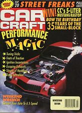 Car Craft Magazine July 1990 Convert Your Auto To A 5 Speed / Performance Magic