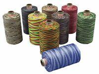 AMANN SABA ® Multicolor-Garn in 9 Farben, Stärke 30, 300m | Nähgarn Farbverlauf