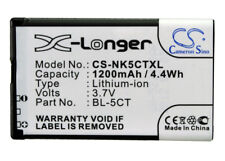 New Battery for Nokia 5220 XpressMusic  6730 6303 classic Replacement BL-5CT