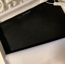Givenchy Leather Antigona Clutch (Medium)