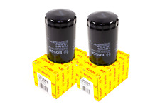 2x OEM BOSCH BMW 325 VW Audi 2.0 1.8T Engine Oil Filter Spin On 72211WS MADE USA
