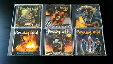 RUNNING WILD - 6 CD LOT - Masquerade The Rivalry Victory Branded And Exiled + 2