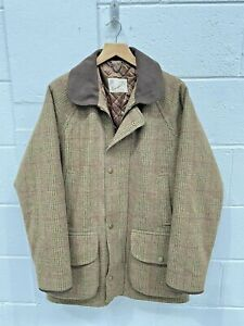 Campbell's of Beauly Shooting Coat Tweed Weatherproof Field Wool Hunting Jacket