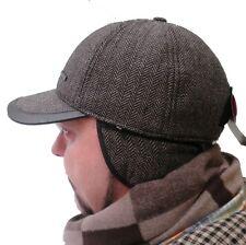 Basecap Wintercap gefüttert Ohrenklappen Sportlich elegant Schirmmütze Unisex
