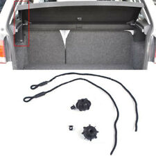 1pc Car Vehicle Parcel Shelf String Strap Cord Rope Black For VW Golf MK6 R20